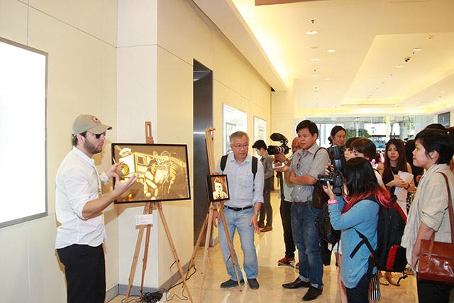 Max Zorn, Bangkok street art, Thailand street art, tape art